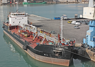 Vessel in port
